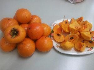 北山様の柿