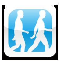 歩く人アプリ