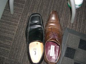 伊東さんの靴