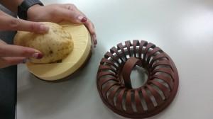 揚げないポテトチップスの作り方