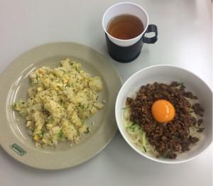 炒飯とジャージャー麺
