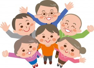 免疫力の高い家族