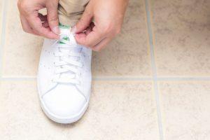 正しい靴を履いて、健康に