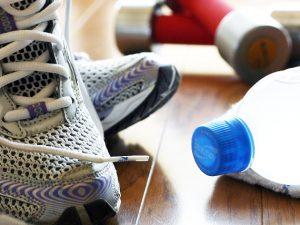室内での筋力トレーニング