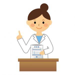 薬を確認する薬剤師