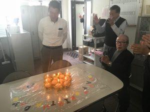 2018年10月の誕生日会の様子
