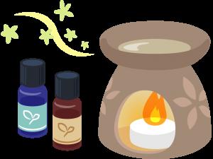 嗅覚:お気に入りのアロマでリラックス