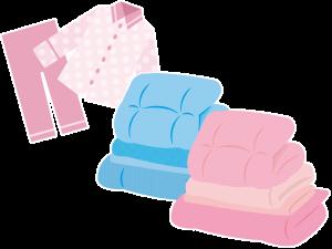 触覚:寝具、パジャマの素材