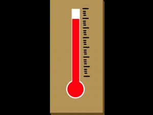 温感:布団の中の温度