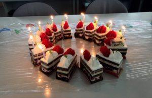 6月のお誕生日ケーキ